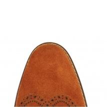 Handmade Men's Wing Tip Brogues Tassel Suede Slip Ons Loafer Shoes image 3