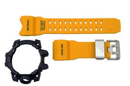 Casio G-Shock Mudmaster GWG-1000-1A9 Rubber Yellow Watch Band Black Beze... - $134.95