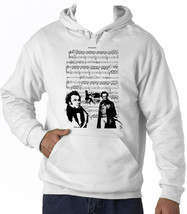 Franz Schubert - New Cotton White Hoodie - $39.55
