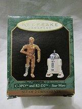 1997 Hallmark C-3PO and R2-D2 Miniature Star Wars Hallmark Ornament - $34.16