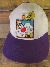 SYLVESTER & TWEETY Six Flags Theme Park Adjustable Youth Hat Cap - $9.89