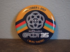 Disney Epcot 35th I WAS THERE Button Pin - €3,50 EUR