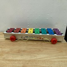Vintage Fisher Price Pull-A-Tune Xylophone from the mid 70s - $14.55