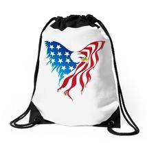American Eagle Usa Flag Drawstring Bags - $31.00