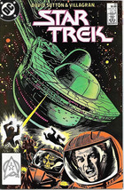 Classic Star Trek Comic Book #49, DC 1988, FINE+ NEW UNREAD - $3.50