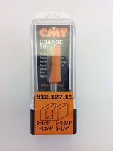 "CMT 812.127.11 Straight Router Bit, 1/4"" Shank, 3/8"" Diameter,  Made in Italy - $13.74"
