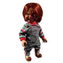 Child's Play 3 Pizza Face Chucky Talking 15-Inch Doll Action Figure by M... - $89.95