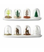 4pcs Spice Jar Set Plant Animal Seasoning Bottle Salt Sugar Shaker Cooki... - $405,92 MXN