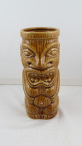 Vintage Tiki Mug - Open Mouth Greedy Tiki - Orchids of Hawaii - Made in Japan - $45.00