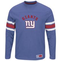 Majestic Men's NFL Power Hit Long-Sleeved Tee Giants M #NINGE-283 - $24.99
