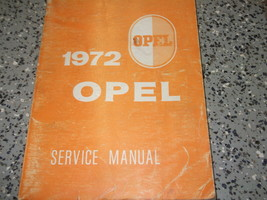 1972 opel gt & 1900 workshop service repair workshop manual oem factory ... - $88.98