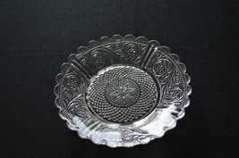 "Duncan Miller Early American #41 Sandwich Glass Coaster/5"" Plate - $7.92"