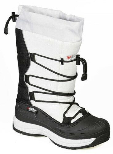 New Ladies Size 7 White Baffin Snogoose Snowmobile Winter Snow Boots Rated -40F