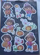 American Greetings Dora the Explorer Dora & Boots 18 Halloween Stickers New - $1.50