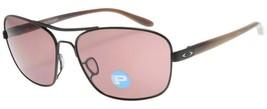 Oakley Women%27s Sunglasses Sanctuary OO4116-06 Satin Black w/ Oo Grey P... - $84.99