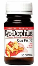 Kyo-Dophilus One Per Day Probiotic Supplement (30 Capsules) Soy- Gluten-... - $17.49