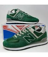 New Balance NB 574 Running Shoes Forest Green ML574EGR size 9 EUR 42,5 U... - $82.16