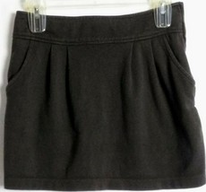 Forever 21 Size Zip Lined Mini Skirt Gray Cotton Blend Size S Small - $14.84