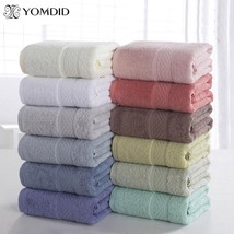 100% Cotton Solid Bath Towel Beach Towel For Adults Fast Drying Soft 17 ... - $18.99