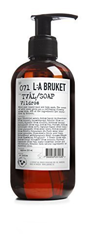 L:A L a Bruket Rose Liquid Body no. 071 Hand Soap