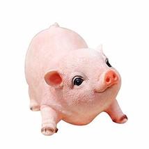 Agirlgle Animal Garden Statue - Cute Pig - Funny Outdoor Sculpture Resin... - $26.41