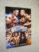 WWE Program WWF Wrestling Wrestlemania XXVIII 4/1/12 The Rock Dwayne Joh... - $28.99