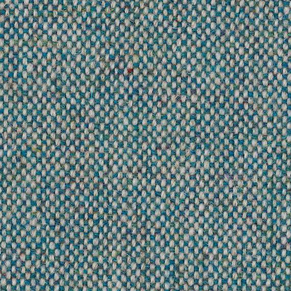 1.5 yds Camira Upholstery Fabric Main Line Flax Bayswater Blue MLF24 AB
