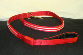 New Bright Red Double Led Light Up Pet Dog Safety Leash For Walking At Night - $4.99