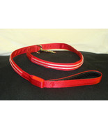 NEW BRIGHT RED DOUBLE LED LIGHT UP PET DOG SAFETY LEASH FOR WALKING AT N... - $4.99