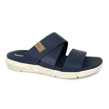 Timberland Women's Wilesport Navy Slip On Sandals A1XPH - $49.99
