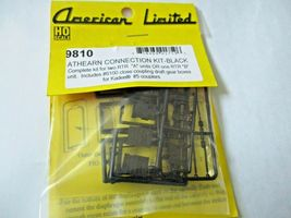 American Limited # 9810 Athearn Operating Diaphragms Black HO-Scale image 5
