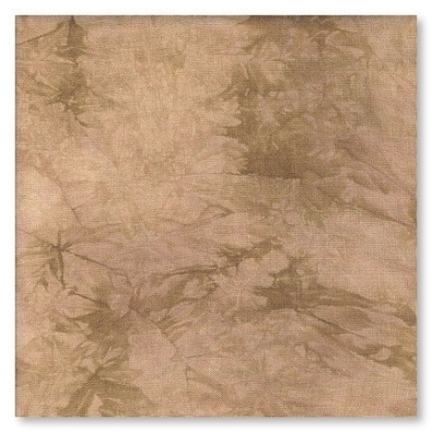 Primary image for FABRIC CUT 32ct oaken linen 11x11 for Cool Beans series Hands On Design