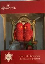 2018 Hallmark Our 1st Christmas Christmas Tree Ornament, Red Cardinals//// - $0.98