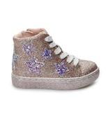 -Toddler Girls Jumping Beans Lemon Sherbert High Top Glittery Sneakers-... - $15.00