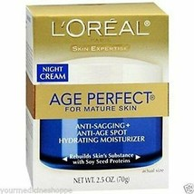 L'Oreal Paris Skin Expertise Age Perfect Night Cream For Mature Skin 70g... - $11.29