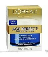 L'Oreal Paris Skin Expertise Age Perfect Night Cream For Mature Skin 70g... - $11.29