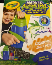 NEW Crayola Marker Airbrush Set NIB - $23.36