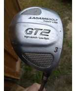 Adams Golf Tight Lies GT2 #3 Wood  Graphite Shaft needs grip - $18.70