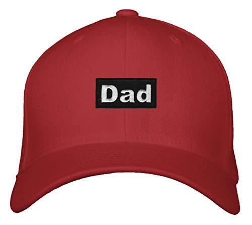 Dad Hat - Adjustable Great Cap For Any Father (Red)