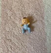 Vintage Bluebird Polly Pocket 1992 Babysitting Stamper Baby Lucy Toddler... - $24.99