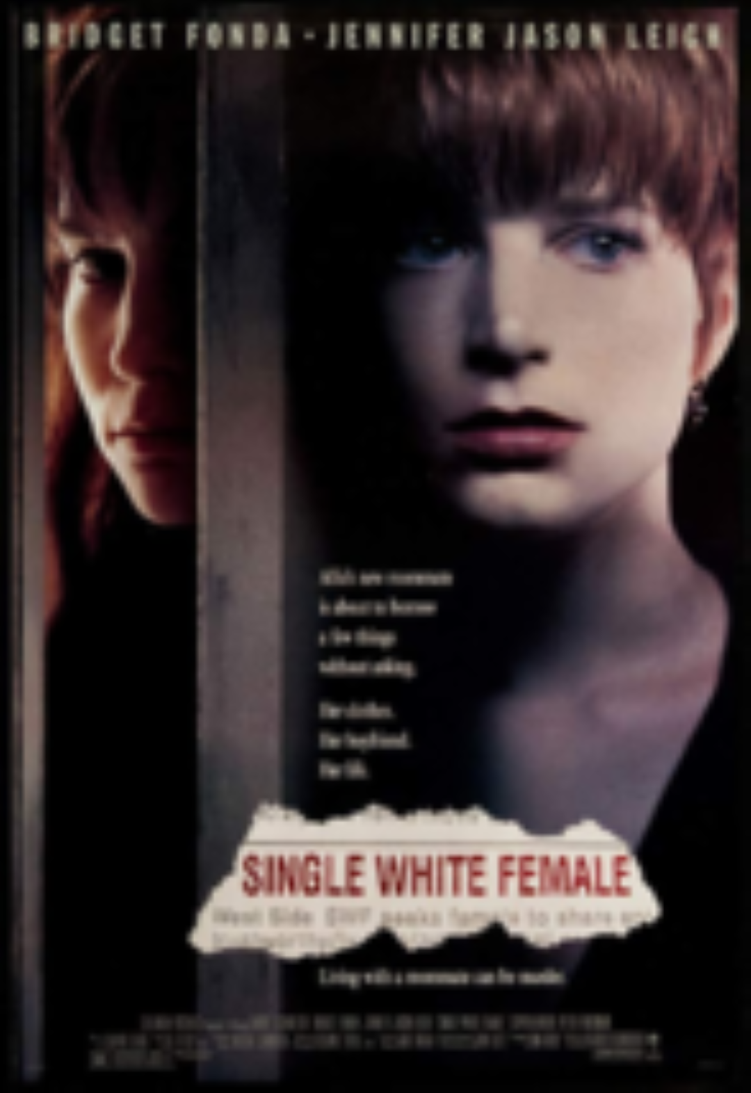 Single White Female Vhs