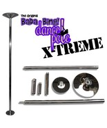 Portable Fitness Exercise Exotic Stripper Strip Spinning Pole Dance Danc... - $143.55