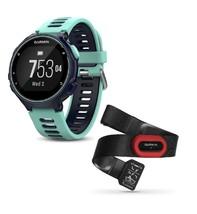 Garmin Forerunner 735XT GPS Watch Wrist Based HR Blue Bundle (w/ HRM-Run) - $499.90