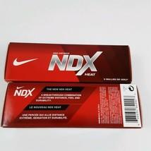 Two Packs Of 3 Golf Balls Nike Ndx Heat - $13.99