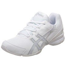 NEW ASICS GEL-COMP CHEER SHOE WHITE/PEARL/SILVER Q971Y - MULTIPLE SIZES - $39.99