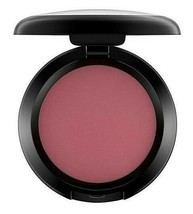 MAC Powder Blush Fard a Joues FEVER Intense Reddish Burgundy .21oz / 6 g... - $23.76