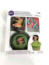 Wilton Cupcake Decor for 24 NIP Hula Girl Hawaii Luau Moana - $8.00