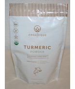 THE ORGANIQUE CO Turmeric Raw Powder 8 oz Ayurvedic Super Spice BB: 01/19 - $7.38