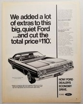1970 Print Ad The Special Ford Galaxie 500 2-Door Hardtop - $11.56