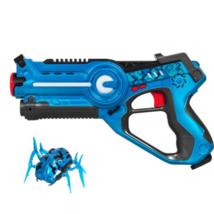 Kids Infrared Laser Tag Blue Blaster Childeren Toy Set w/ Robot Bug, 4 P... - $34.99